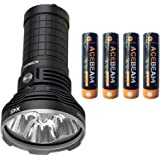 AceBeam X45 Flashlight 18000 Lumens LED Flashlights High Lumens Included Batteries LED Updated Version