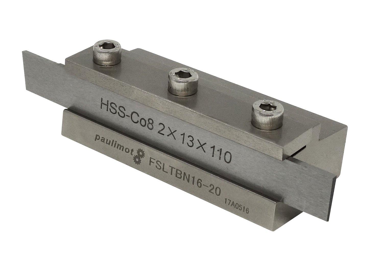 PAULIMOT Abstechstahl-Halter mit HSS-Messer (8 % Kobalt)