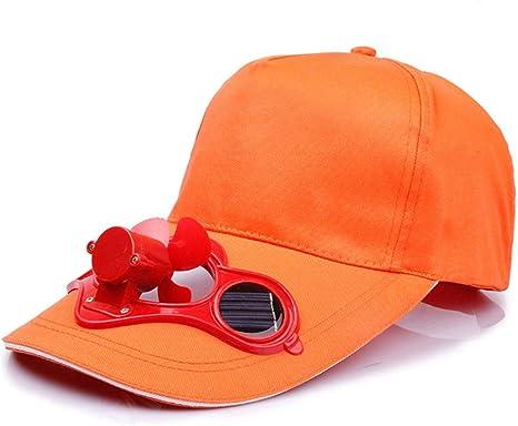 Gorra de ventilador de energía solar Gorra de béisbol de golf ...