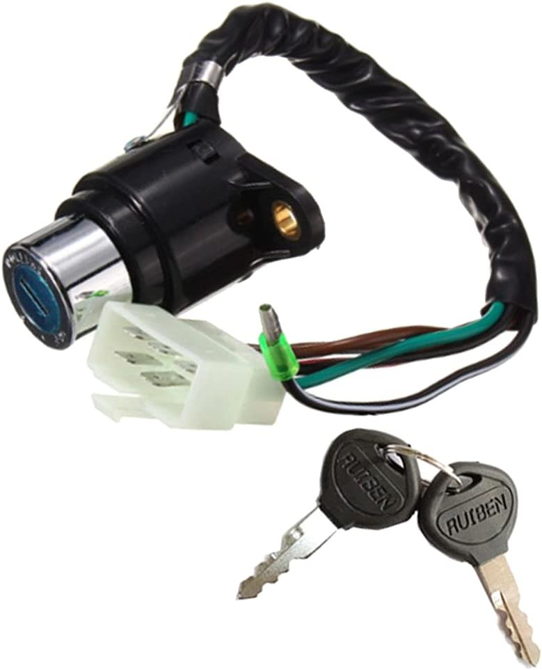 Plastic Copper Quality Ignition Key Switch for Hawk I II 400 CB400T 78 79