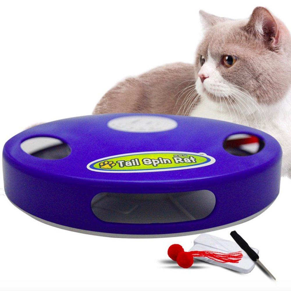 HomeYoo Automatisches Katzenspielzeug,Undercover beweglichen Maus ...