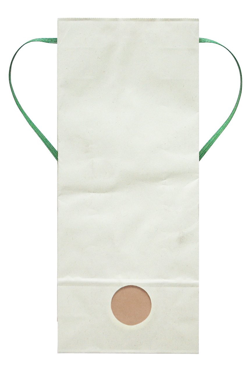 マルタカ カラークラフト 無地 わかば 窓付 角底 2kg用紐付米袋 1ケース(300枚入) KH-0880 B077GJDLRT 2kg用米袋|1ケース(300枚入)