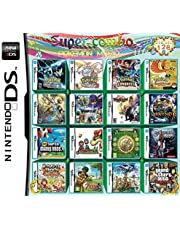 $33 » Cenxaki 208 in 1 Super Combo Game Pack Game Card Cartridge for Nintendo DS 2DS 3DS Games