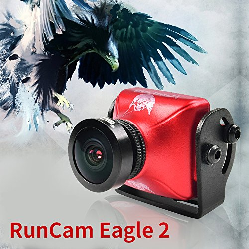 RunCam Eagle2 800TVL 16:9 FPV Camera FOV 130deg with Global WDR Aluminium Case For Drone Quadcopter