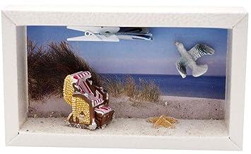 Zauberdeko Geldgeschenk Verpackung Nordsee Ostsee Strandkorb