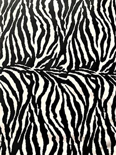 Poly Cotton Animal Print Fabric 58