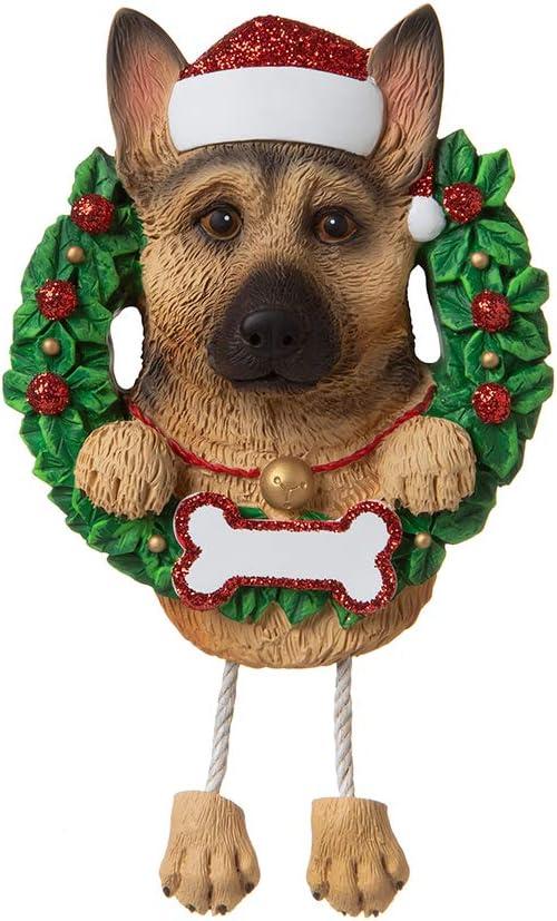 Free Shipping! German Shepherd /& Glass Scottie Dog Ornaments  You Choose