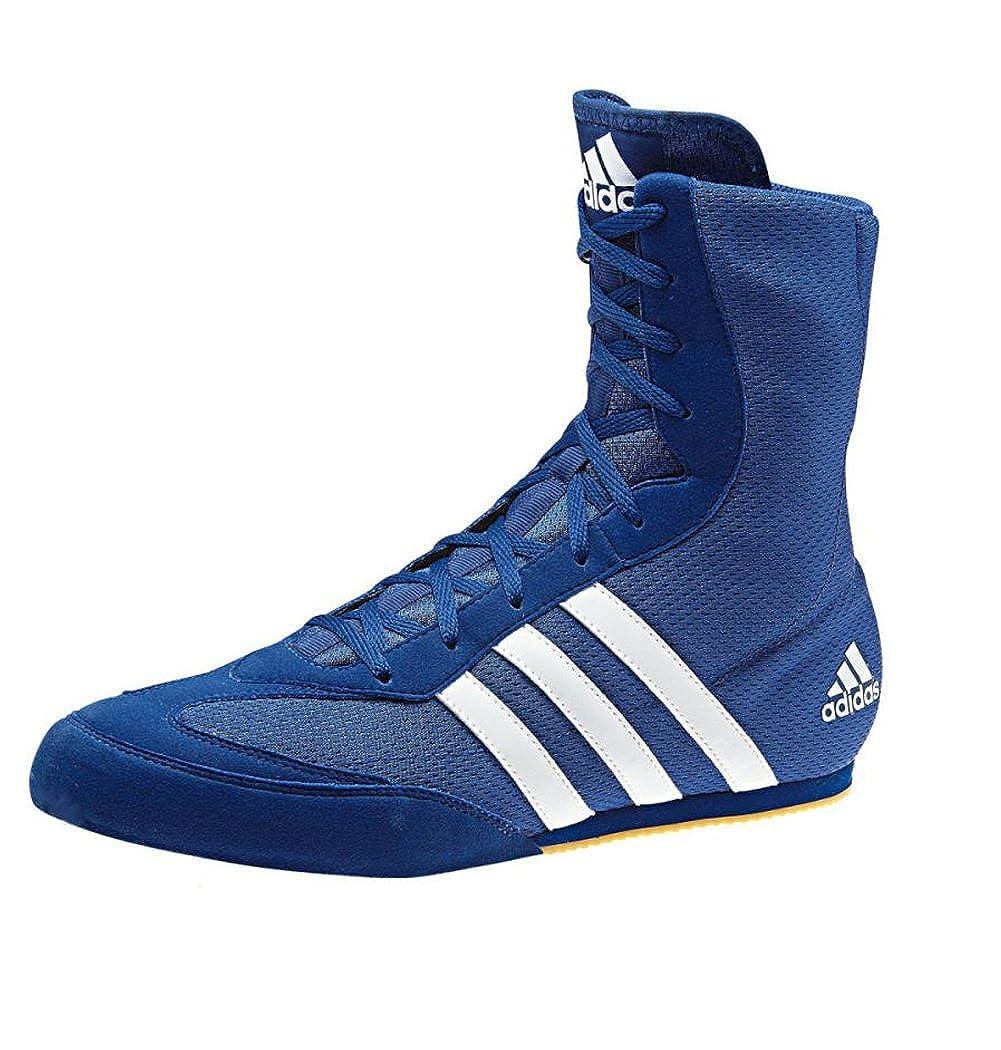 adidas Box Hog 2 Boxing Shoes Blu Bianco