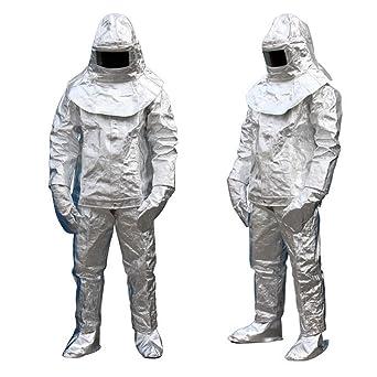 HUKOER Traje de aislamiento, papel de aluminio, protección ...