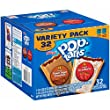 Kellogg's Pop-Tarts Frosted Toaster Pastries Variety Pack, Frosted Strawberry and Brown Sugar Cinnamon, 32 Count