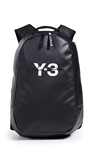 1a3b6da7aab Amazon.com   Y-3 Men s Logo Backpack, Black, One Size   Casual Daypacks