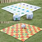2 In 1 Giant Snakes and Ladders / Tan...