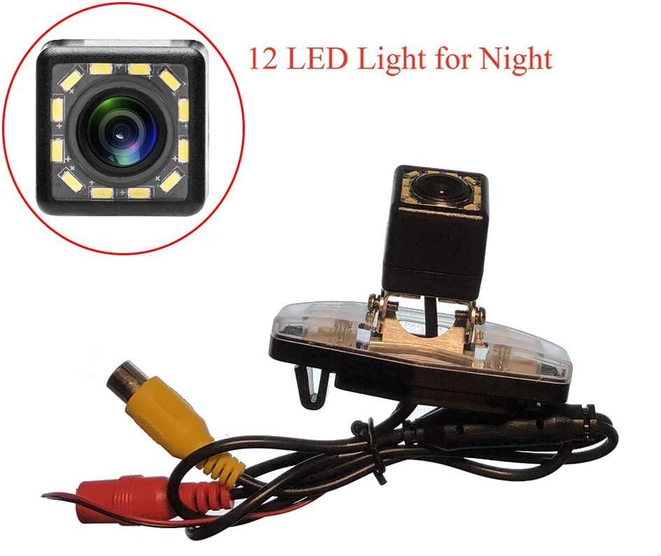Spirior//Honda Civic VII VIII//Honda City 4D /& Waterproof and Shockproof Reversing Backup Camera LED HD CCD Night /& Adjustable Angle Car Rear View Camera for Honda Accord//Inspire 8 LED