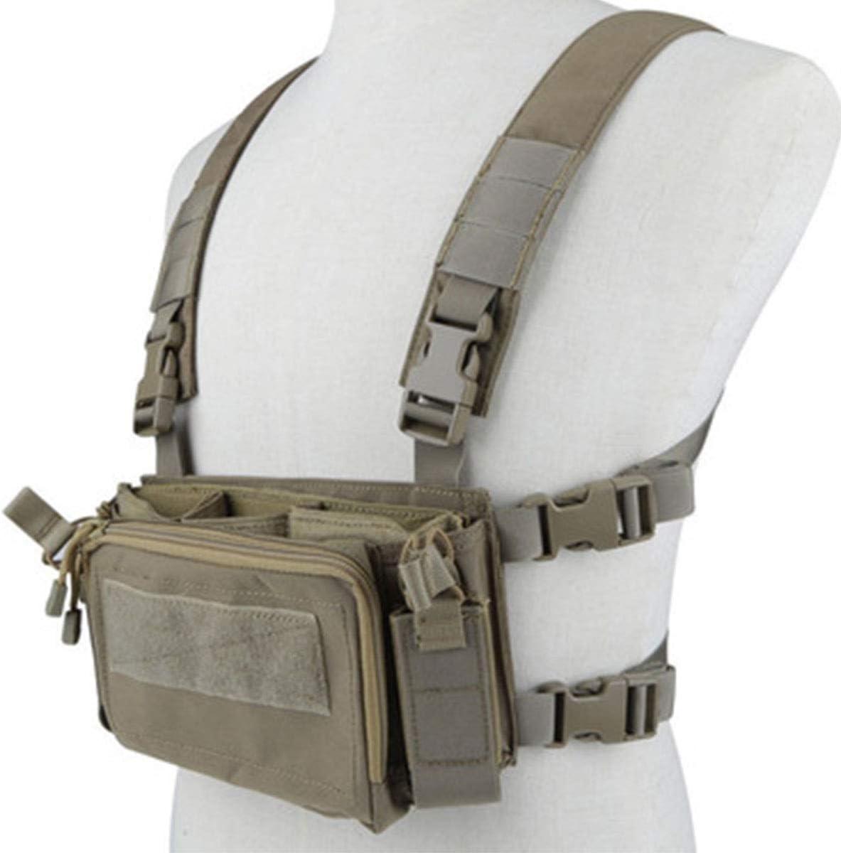 YSGJ Combate Militar al Aire Libre Suave Fundido Protector de Pecho del Chaleco de la Pistola de Disparo comprimido Combate Las Fuerzas Especiales Equipo Equipo Ligero Chaleco táctico