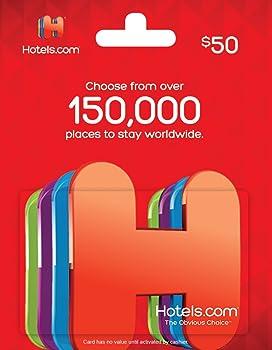 $50 Hotels.com Gift Card