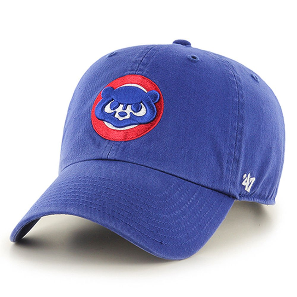 d8ff591deb9 Amazon.com    47 MLB Chicago Cubs Cooperstown Clean Up Adjustable ...