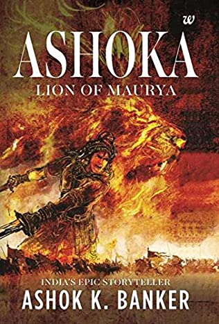 book cover of Lion of Maurya