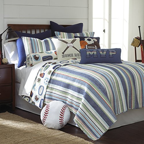 MVP Twin Quilt Set by Levtex