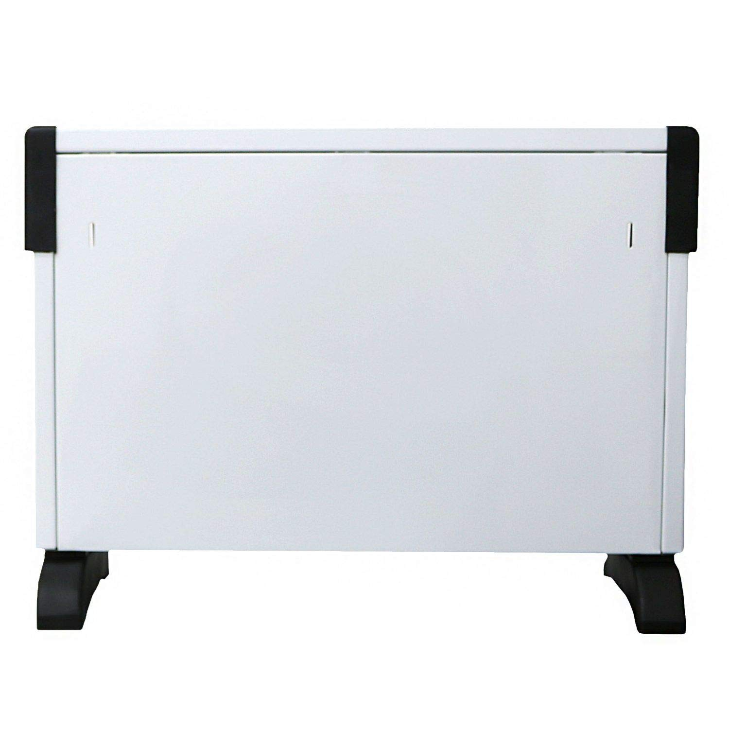Home Guilty Gadgets 2KW Convector Heater Radiator 3 Adjustable Heat Settings Wall Mount or Free Stand