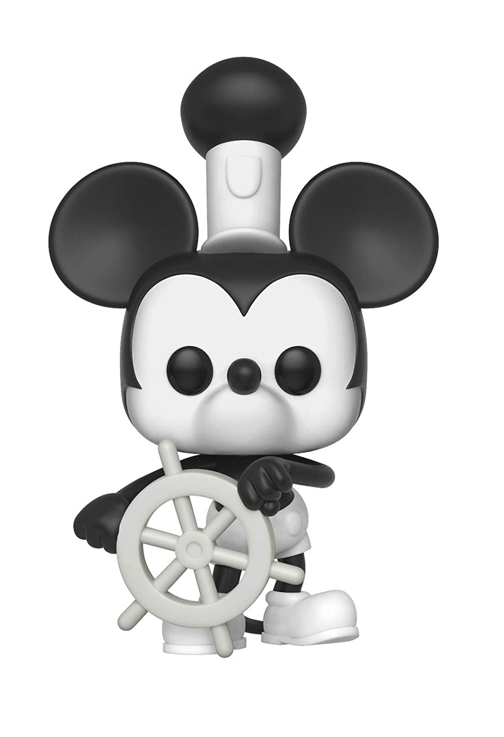 Funko Pop Disney: Mickey's 90Th - Steamboat Willie Collectible Figure, Multicolor 32182