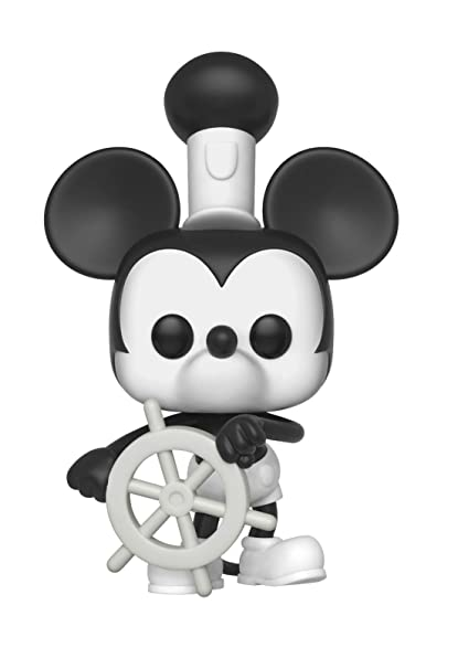 Amazoncom Funko Pop Disney Mickeys 90th Steamboat Willie