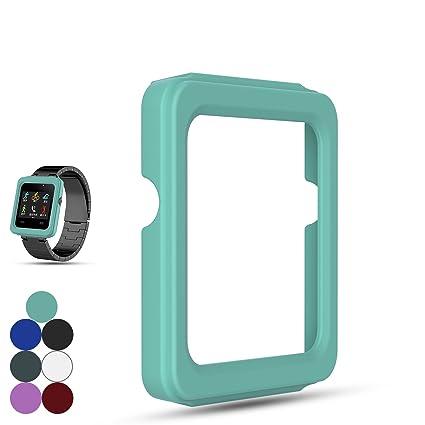 Feskio Garmin Vivoactive - Funda de silicona para reloj inteligente Garmin Vivoactive GPS, resistente a
