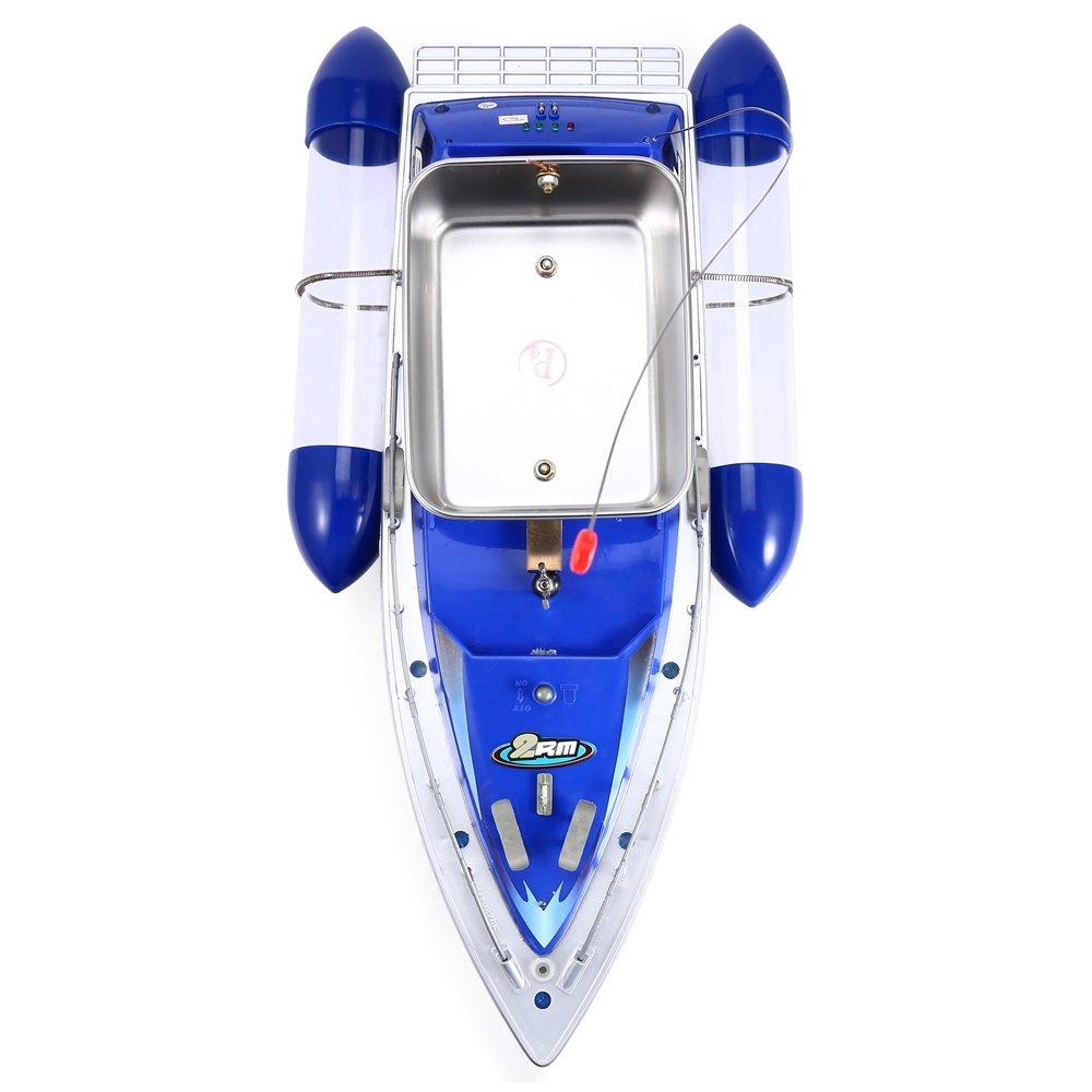 Radio-Fernbedienung Mini Funkk/öderboot 200/m Reichweite K/öder Angelnetz K/öder-Boot Angelschiff mit Fernbedienung um Fische zu finden
