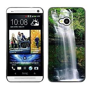 Paccase / SLIM PC / Aliminium Casa Carcasa Funda Case Cover - Waterfall - HTC One M7