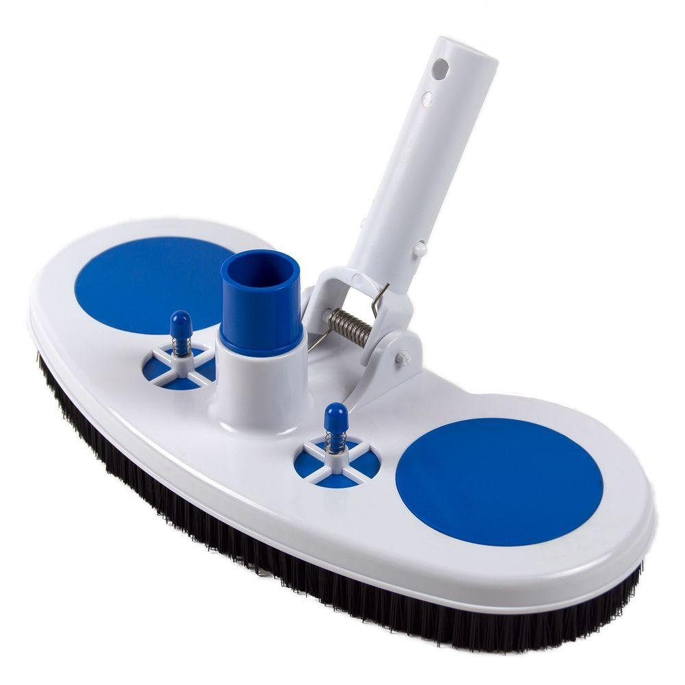 Swimables Weighted Pool and Spa Brush Vacuum with Air-Relief Head - Perfect for Vinyl Lined Pools & Start-ups on Plaster Pools by Swimables