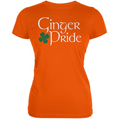 230061b2 Amazon.com: St. Patricks Day - Ginger Pride Juniors T-Shirt: Clothing