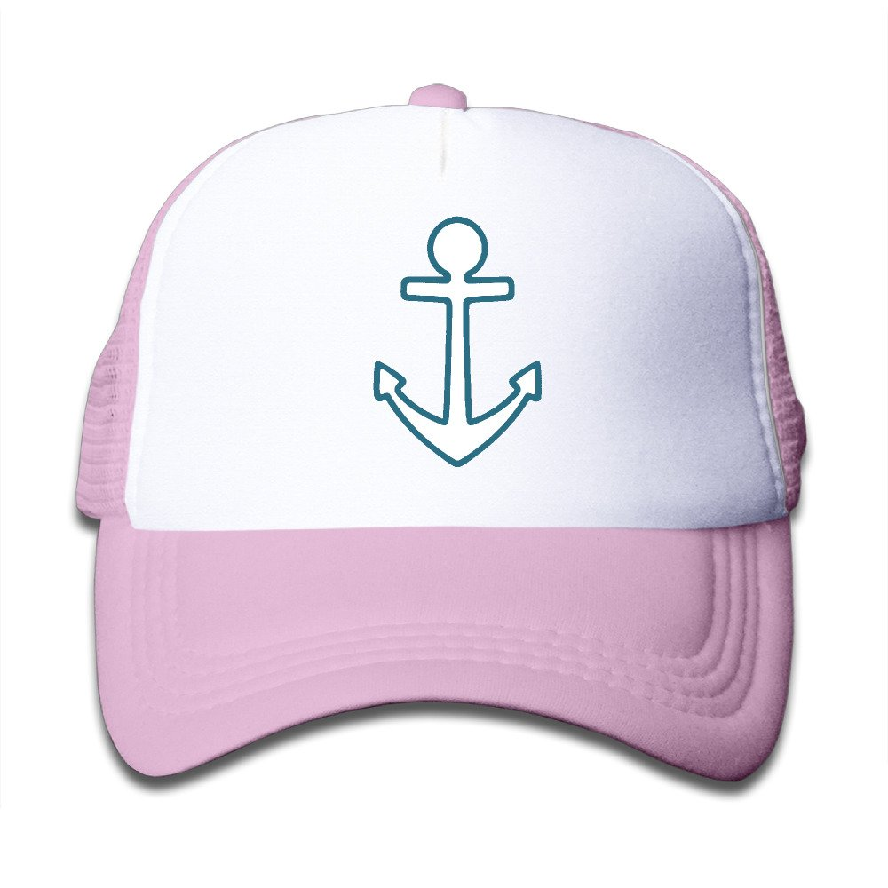 Kids ANCHOR FRAME Trucker Hats, Youth Mesh Caps, snapback Baseball Cap Hat