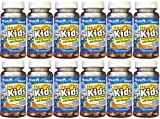 Count 100 Chewable Tablets per Bottle. Mason vitamins healthy kids cod liver chewable with vitamin d. this tasty orange flavor chewable has no fishy taste. remember in the old days when our parents tried to give us a spoon full of liquid cod liver oi...
