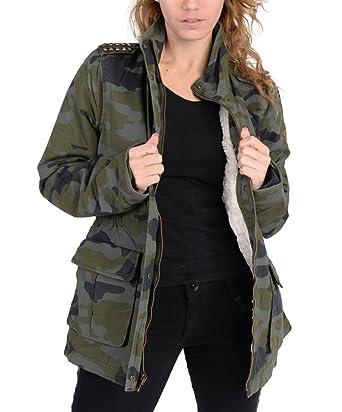 best choice timeless design 50% price Adidas Damen Selena Gomez Camo Jacke Grün, damen, camouflage ...