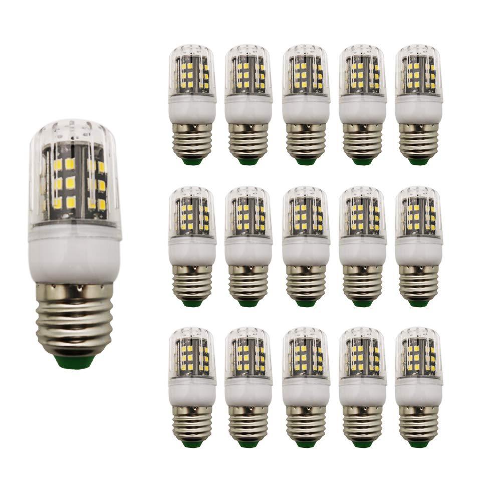 Pack of 15 3 Watt E27 LED Corn Light 250 lm Warm White 3000 K Small Corn Light 220 V AC