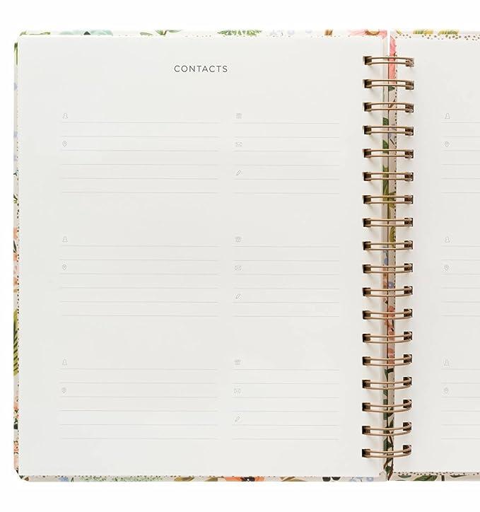 Rifle Paper Co 17 Month Agenda 2018 (Spiral Planner) (Jumbo, Herb Garden)