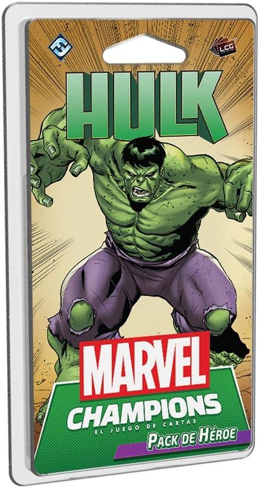 Fatansy Flight Games Marvel Champions - Hulk (MC09ES): Amazon.es: Juguetes y juegos