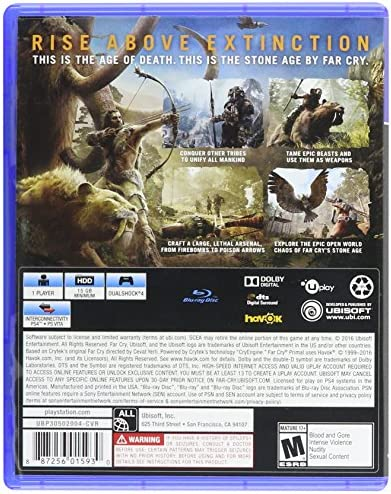 Far Cry Primal - PlayStation 4 Standard Edition by Ubisoft: Amazon.es: Videojuegos