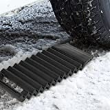 Universal Car Wheel Anti Skid Pad Tire Traction Non-Slip Mat Plate Grip for Snow Mud