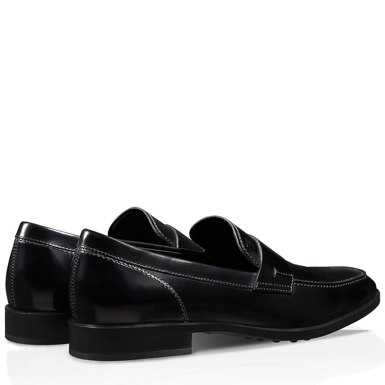 a7e646a6e29 Tod s Leather Mocassins Nero Uomo  Amazon.co.uk  Shoes   Bags