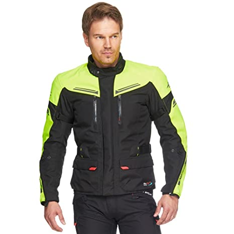 Sweep Fashion Mens Challenger Evo Waterproof Motorcycle Safety Jacket