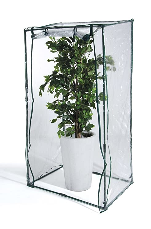 VERDELOOK Telo di ricambio in PVC trasparente per serra da terrazzo ...