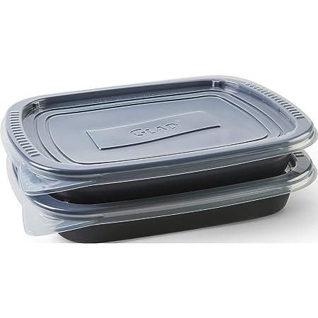 Glad - Juego de 6 recipientes de almacenamiento de alimentos ...