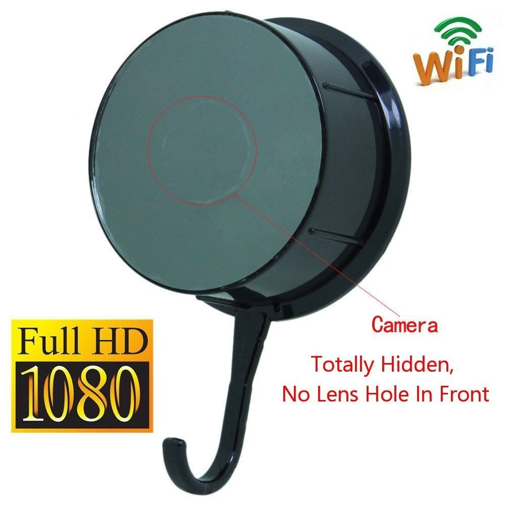 BYD - 1920 x 1080P HD ropa Hook Red espía cámara movimiento ...