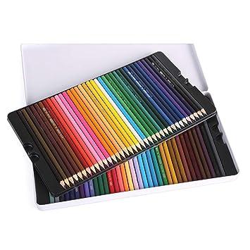 Muhui - Lápices de colores 72 colores, profesional, estuche ...