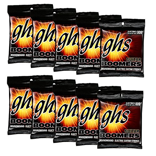 GHS Strings GBCL 10 pack Boomers Roundwound Electric (Round Wound Single)