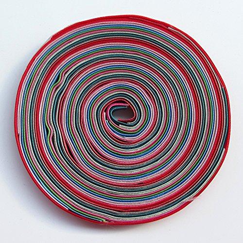 "Chenkou Craft 30 Yards 3/8"" Velvet Ribbon Total 30 Colors Assorted Lots Bulk"