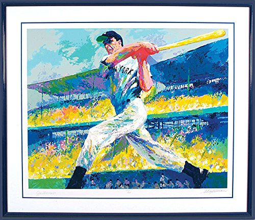 Joe DiMaggio The Cut LeRoy Neiman Serigraph Painting Art Limited - Painting Joe Dimaggio