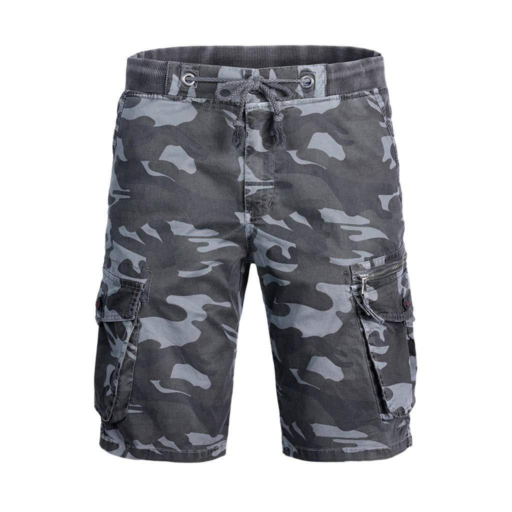 Fashion Men's Cotton Pocket Camouflage Outdoors Work Trouser Cargo Short Pants, MmNote by MmNote mens shorts