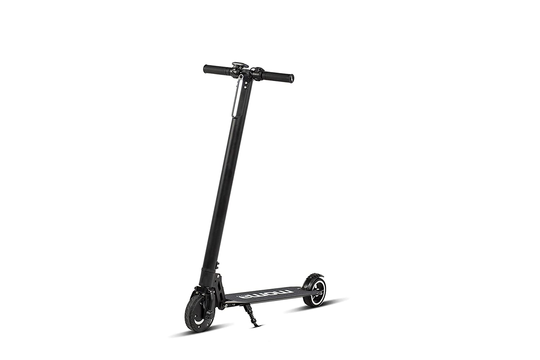 Moma Bikes Aluminio E350 Patinete electrico Plegable, Adultos Unisex, Negro, Unic Size