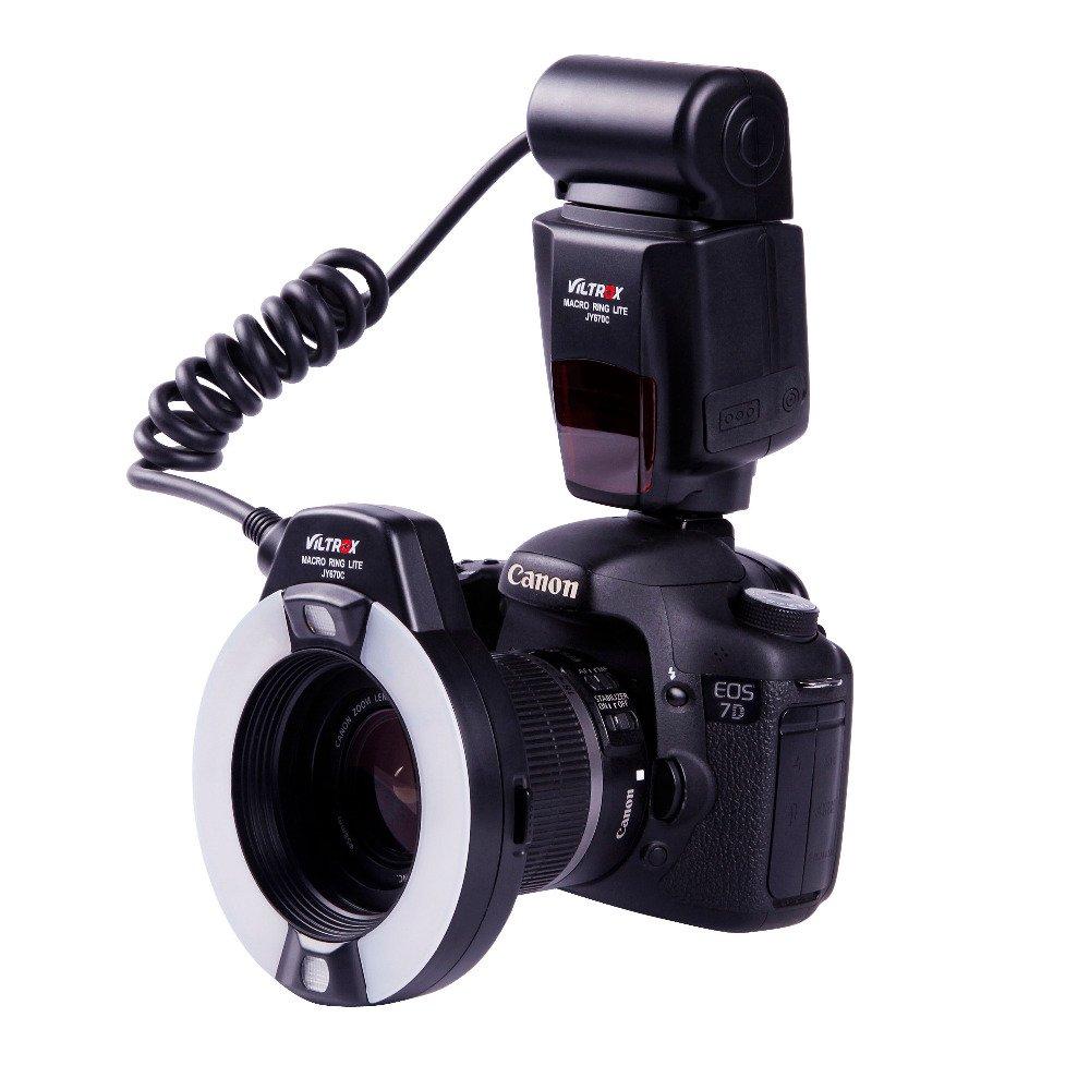 Viltrox JY-670C E-TTLマクロリングライトストロボフラッシュライト、Canonカメラ対応。   B00QGEA5LS